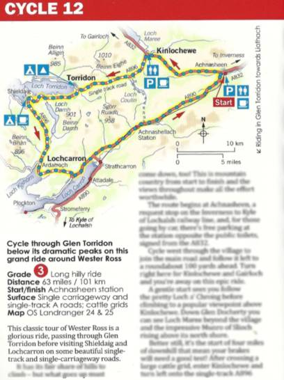 Walking and Cycling in the Highlands Book