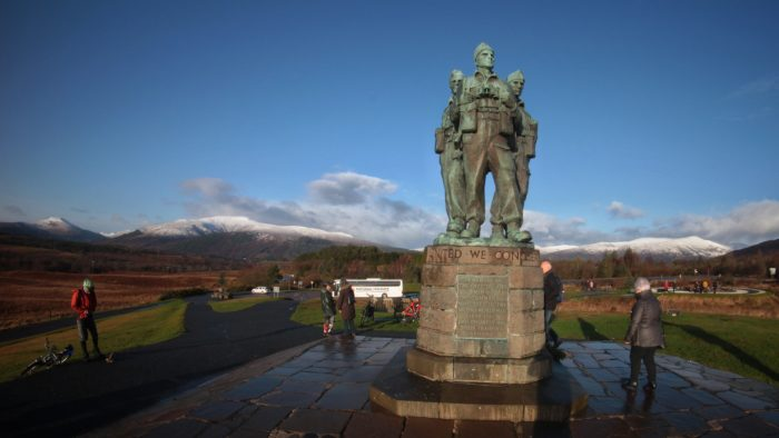 The Commando Memorial near Spean Bridge