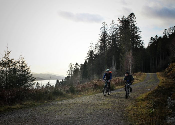 NCN78 | Great Glen Way by Loch Lochy between Gairlochy and Laggan Locks