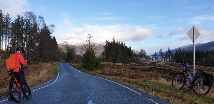 NCN78 Caledonia Way between Gairlochy and Clunes heading east