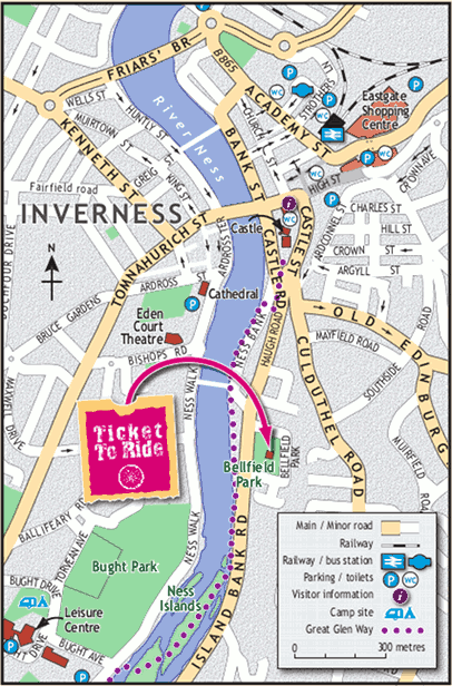 Travel Information for Inverness Scotland