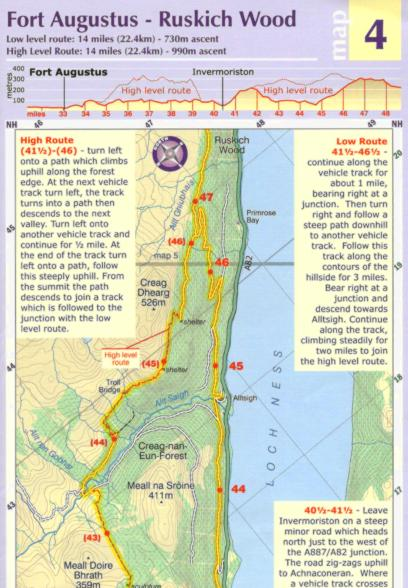 Great Glen Way MTB Map