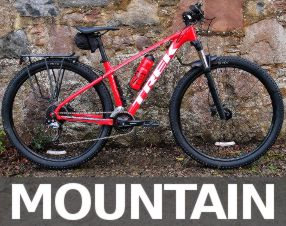 Mountain bike hire in Inverness